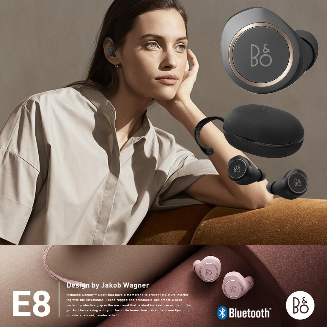 【B&O Play】Beoplay E8 ワイヤレスイヤフォンヤコブ・ワグナー/リチウムイオン電池/ハンズフリー通話/Bluetooth 4.2/ブルートゥース/密閉型/持ち運び/高音質【コンビニ受取対応商品】