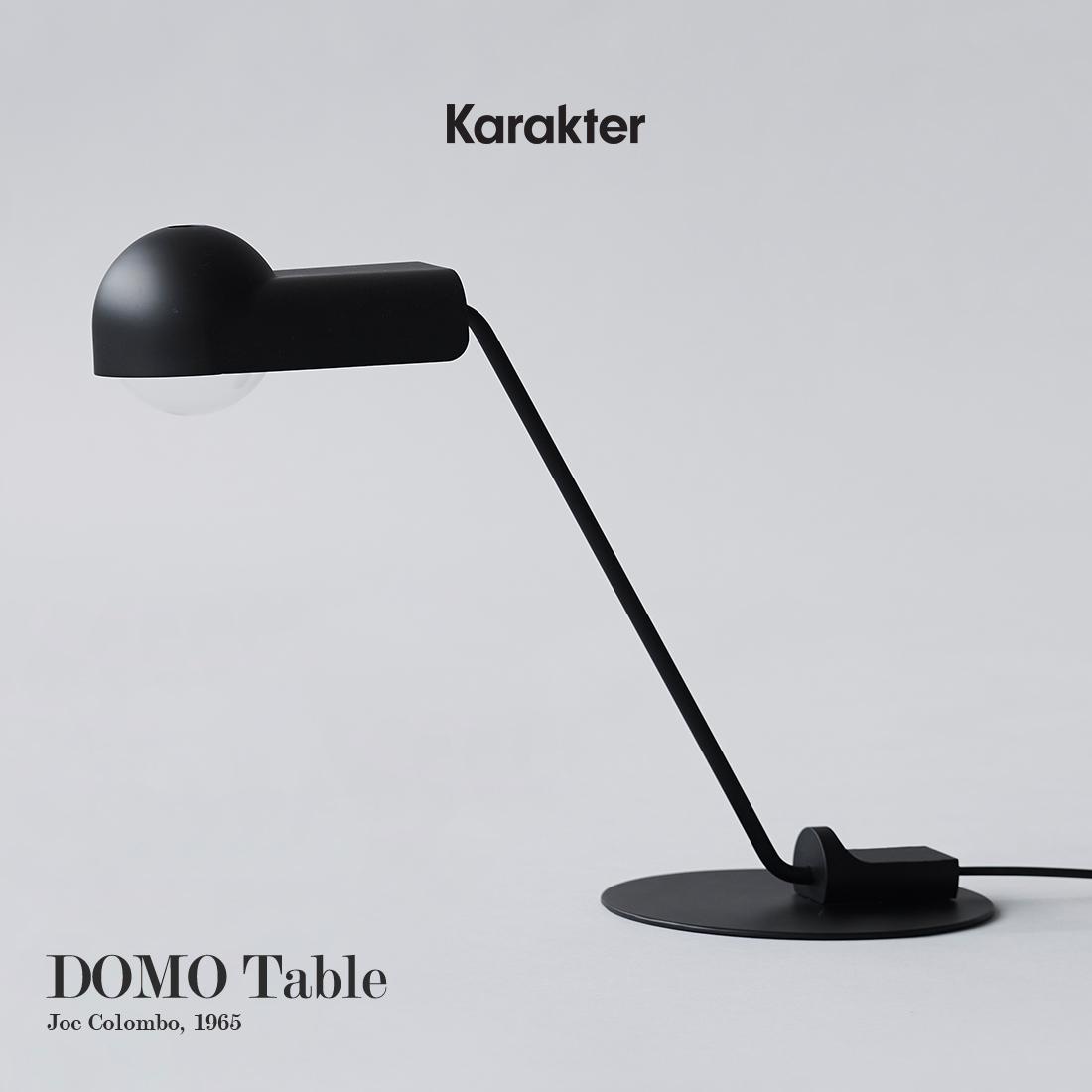 【KARAKTER カラクテー】DOMO TABLE LAMP ドーモ テーブルランプTable Lamp テーブルランプ テーブルライト ジョエコロンボ