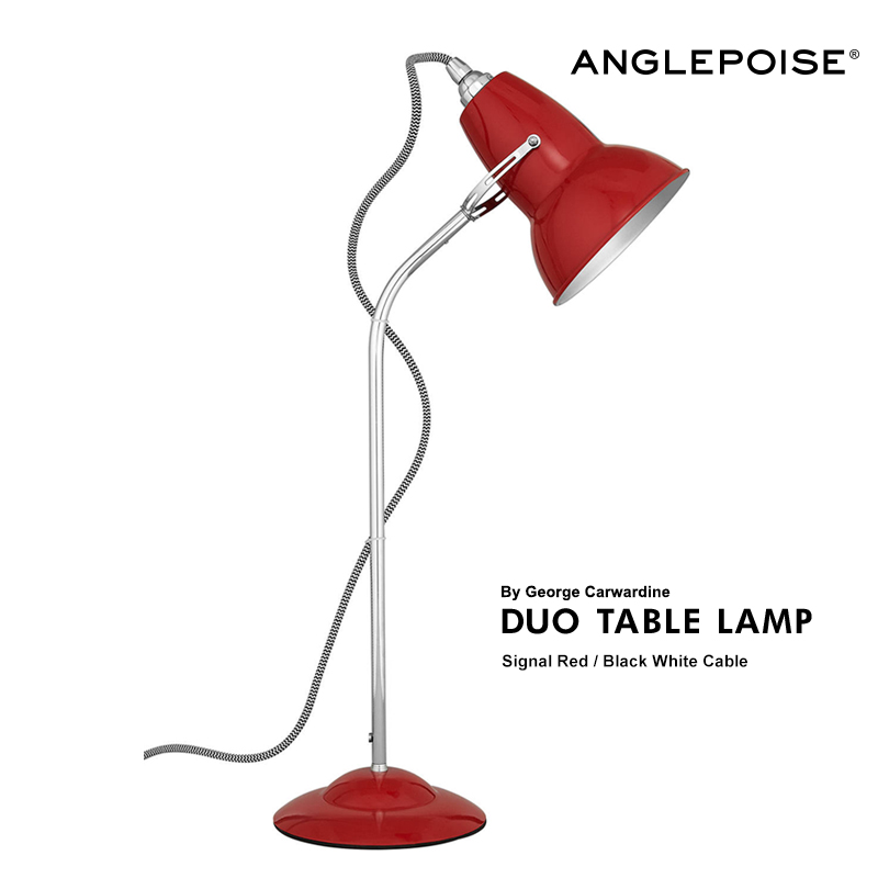 【ANGLEPOISE LAMP】DUO TABLE デスクライト LAMP RED テーブルランプ 照明 デスクライト【ANGLEPOISE 北欧【コンビニ受取対応商品】, ザ木工機械:9057dd76 --- sunward.msk.ru