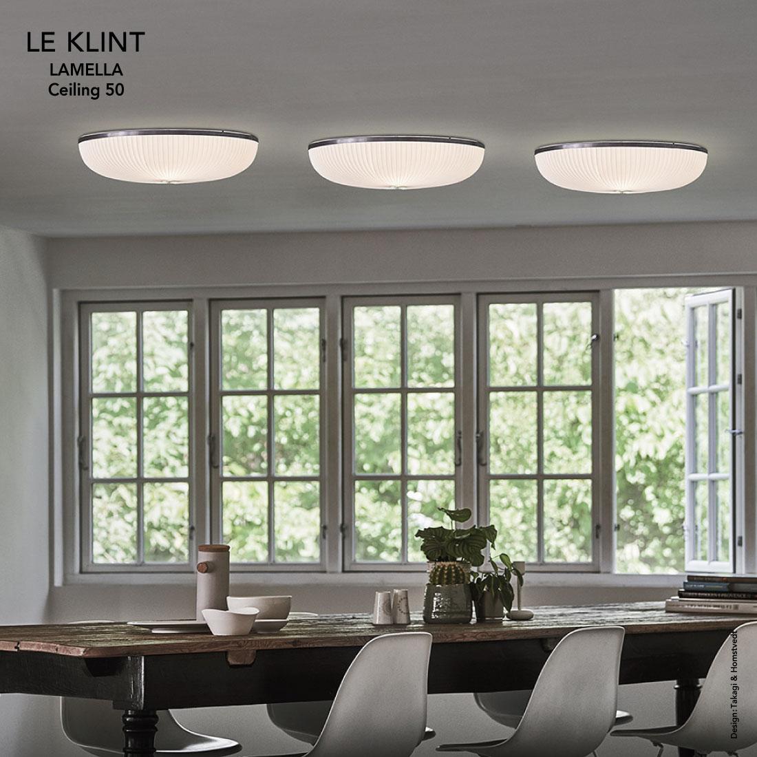 【LE KLINT/レ・クリント】LAMELLA Ceiling 50 Takagi & Homstvedt/ラメラ/シーリング50/タカギアンドホムスベット/照明/デンマーク/北欧/デンマーク