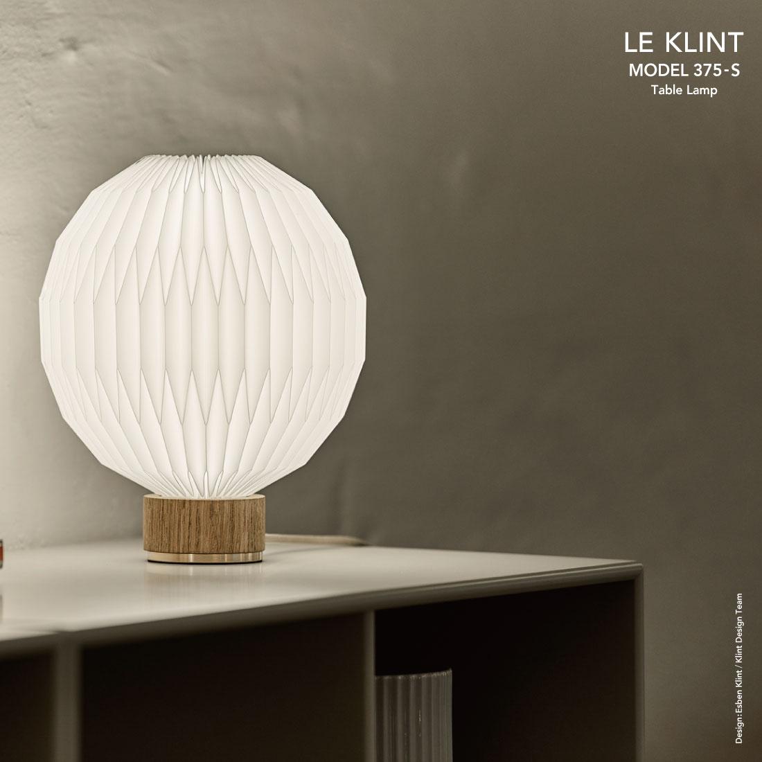 【LE KLINT/レ・クリント】MODEL 375 Small Table lamp Esben Klint/モデル375/スモール/テーブルランプ/エスベン・クリント/照明/デンマーク/北欧/デンマーク