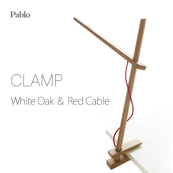 CLAMPクランプLEDデザインデスクライト「Pablo社」が手がける木製のデスクライト Pablo パブロ