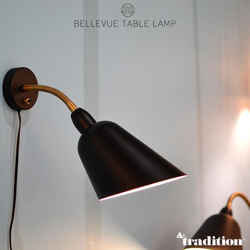 【&TRADITION/アンドトラディション】BELLEVUE WALL LAMP AJ9 ベルビュー ウォールランプライト/照明/スチール/アルミ/リビング/キッチン/ダイニング/Denmark/クラッシック/Arne Jacobsen/ブラケットライト/壁掛け照明