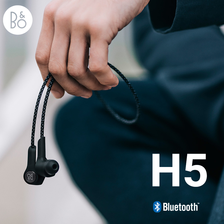 Wプレゼント開催中!【B&O Play】Beoplay H5 ワイヤレスイヤフォンヤコブ・ワグナー/Bluetooth 4.2/ブルートゥース/バング&オルフセン/BANG & OLUFSEN【コンビニ受取対応商品】
