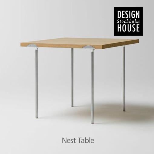【Design House Stockholm/デザインハウス ストックホルム】Etage nest of tables エタージュ ネストテーブル 45×45cm オークテーブル サイドテーブル 机 北欧 家具