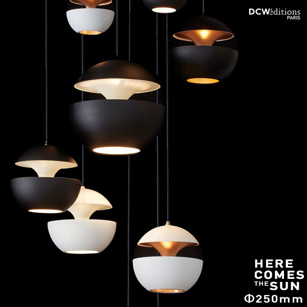 DCW editions/ディーシーダブリューエディションズ HERE COMES THE SUN Pendant Lamp O250mmペンダントランプ/ダウンライト/Bertrand Balas