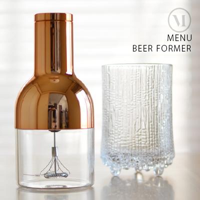 きめ細かいビール泡を電動で作るビアフォーマー BEER FOAMER ビアフォーマー MN4690239menu 登場大人気アイテム メニュー NORM 泡 ビール 人気の定番 ノーム 北欧