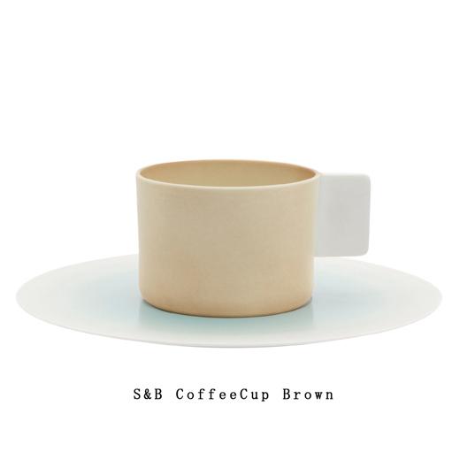 これからの未来に寄り添う 新しい器のシリーズ 有田焼 大幅にプライスダウン 磁器 1616 arita japan SB CoffeeCup 百田陶園 ブラウン 市場 皿 バーイングス コーヒーカップ ショルテン plate デザインTSB