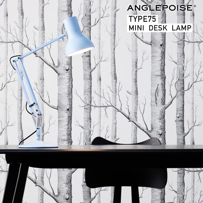 【ANGLEPOISE/アングルポイズ】Type75 mini desk lamp タイプ75 ミニ デスクランプイギリス/アームランプ/ワークランプ/タスクランプ/ Sir Kenneth Grange【クーポン利用不可】