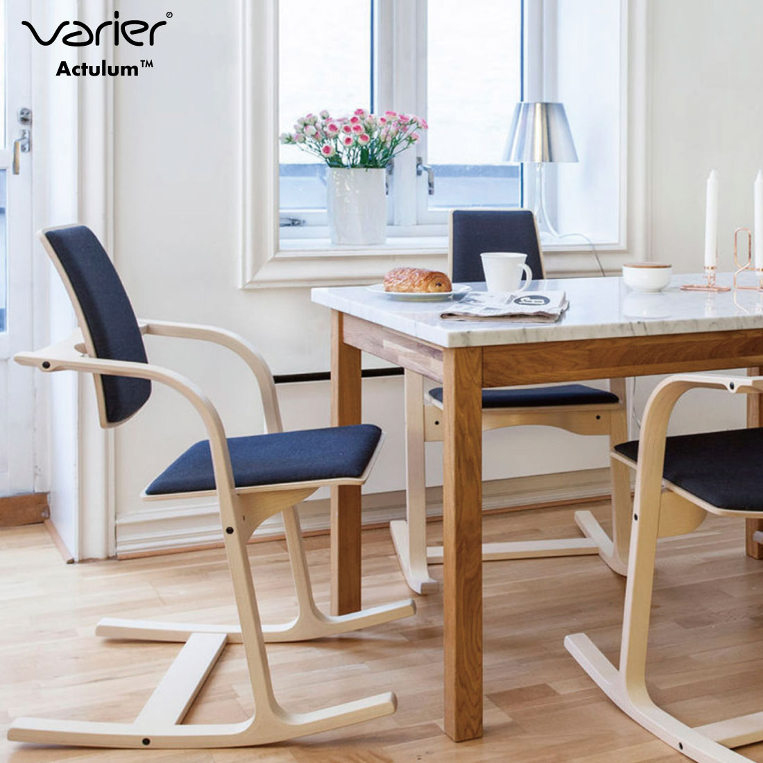 【Varier/ヴァリエール】Actulum アクチュラム/イス/椅子/chair//V03/