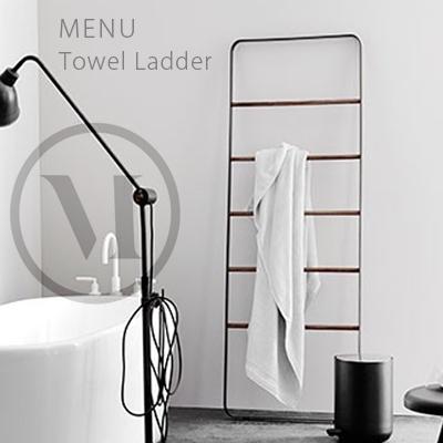 Towel Ladder  タオルラダーmenu メニュー Norm ノームタオルハンガー/スタンド/室内干し/バスルーム