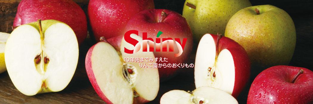 シャイニーアップル 楽天市場店:青森のりんごを使用したりんごジュースメーカーです