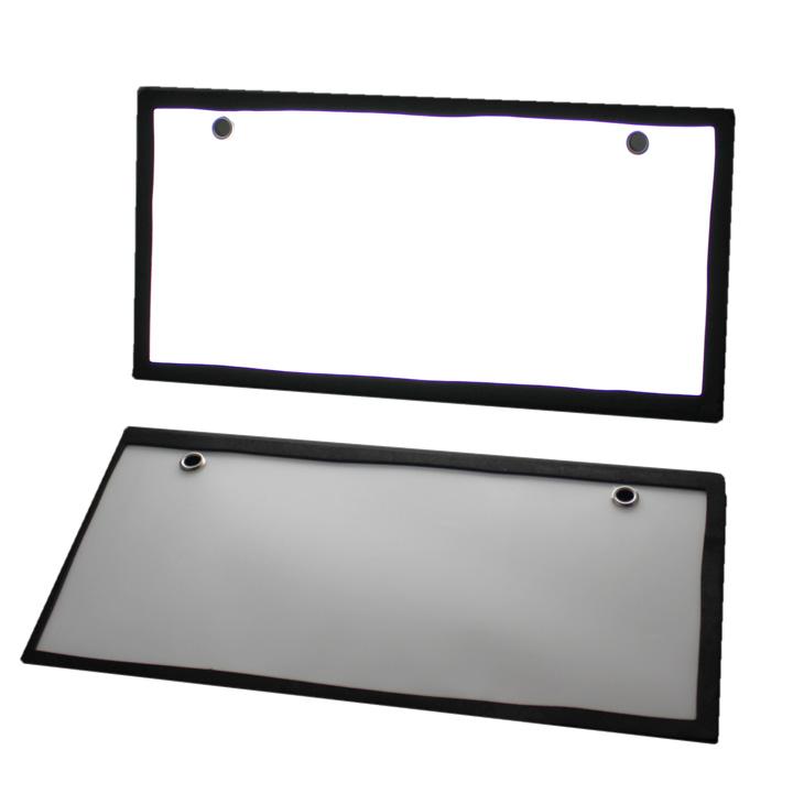 LED ナンバープレート 字光式 12V 汎用 2枚セット (LED-N001)