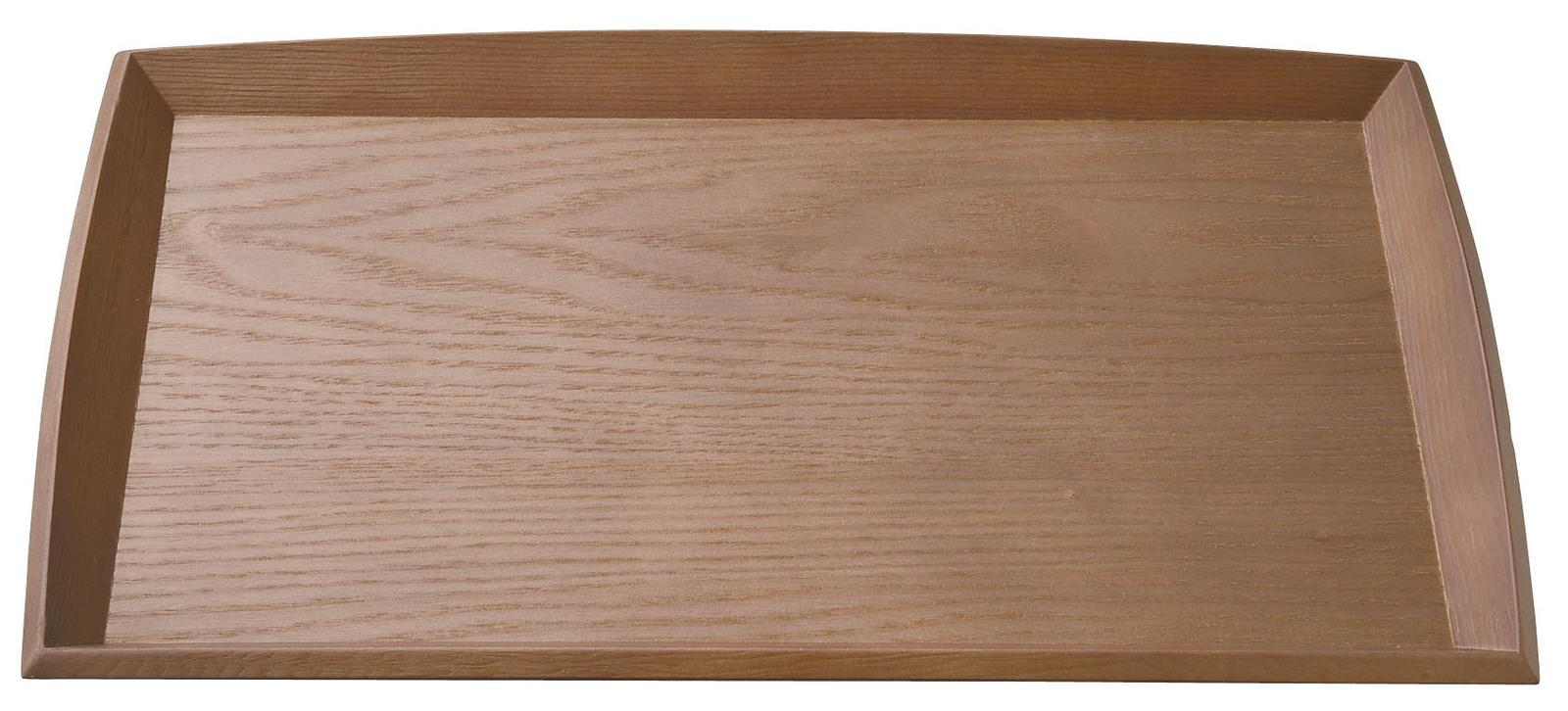 木の盆 おもてなしに合わせて おしゃれな演出を ■ すみれトレー 中 木製 情熱セール トレー 33x21x2.5cmカフェ オールナット色 盆サイズ 5☆大好評 トレーいろいろ