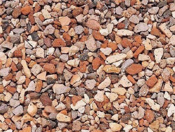大地を彩る筆遣い クラッシュレンガ砕石 クレイチップ アンティークミックス 13kg 国際ブランド 爆安