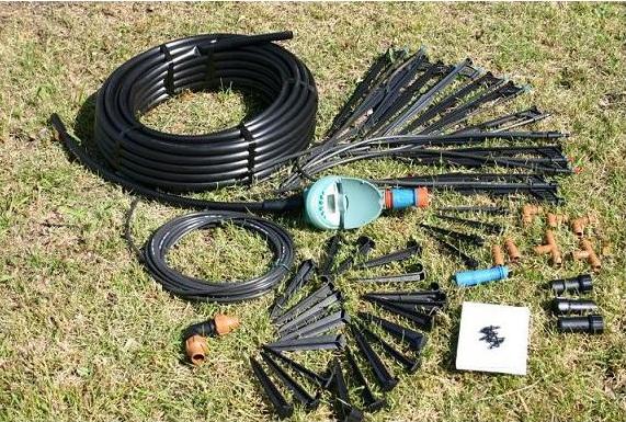 【条件付送料無料】家庭用菜園セット タイマー式自動散水システム ウォーターガーデン