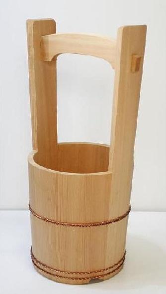 サワラの花桶