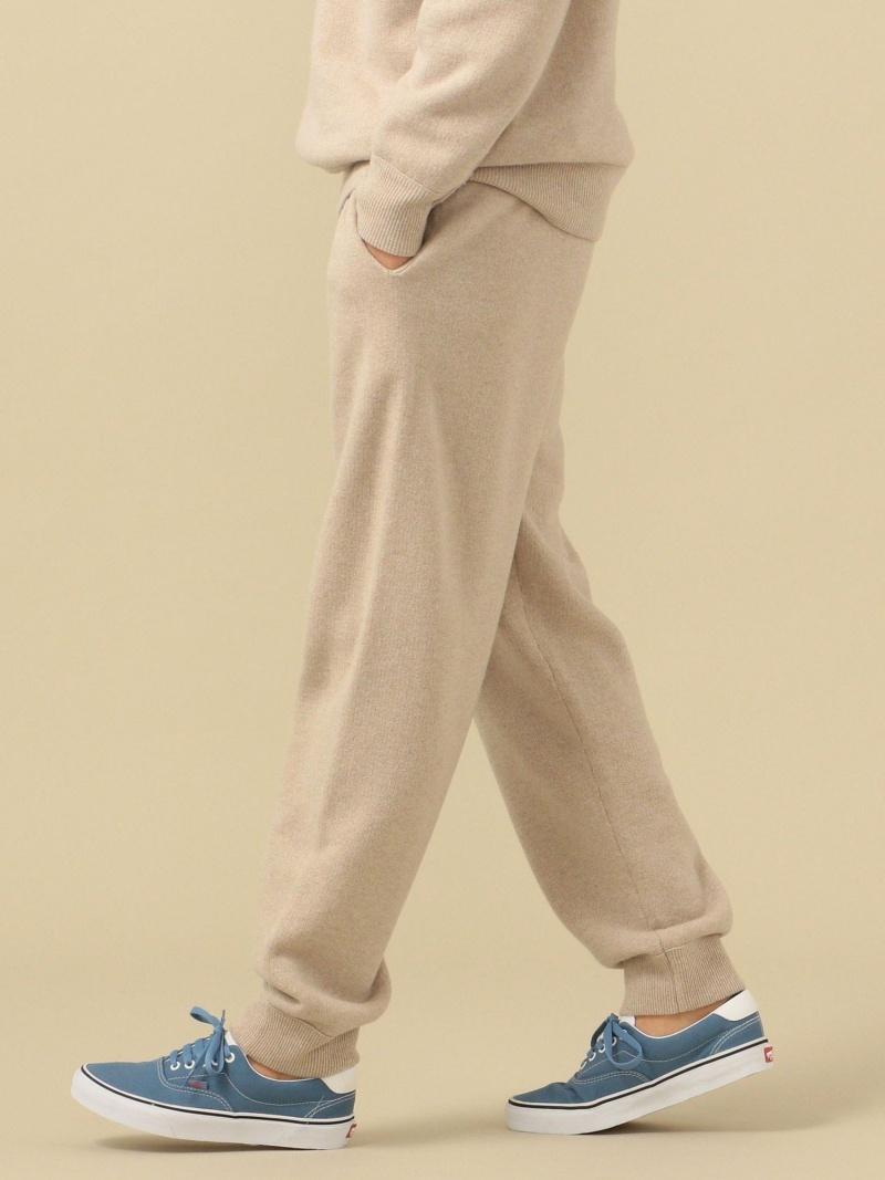 1004TS_ships SHIPS メンズ パンツ ジーンズ 限定Special Price シップス Rakuten Fashion SC: セットアップ対応 2020秋冬新作 ベージュ 裏毛 スウェットパンツ ニット カシミヤ ウール 送料無料 ブラウン グレー