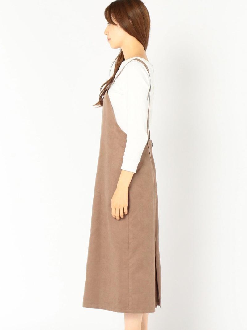 Rakuten FashionSALE 50 OFF フェイクスエードサロペットワンピース SHIPS WOMEN シップス ワンピース シャツワンピース ブラウン グレー ネイビー RBA E送料無料76vmbfYIgy