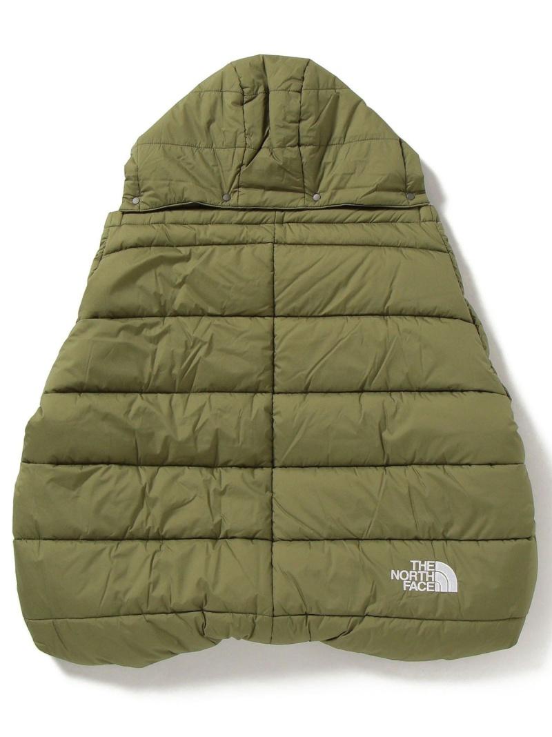 [ Fashion]THE NORTH FACE:Baby Shell Blanket SHIPS KIDS シップス マタニティー/ベビー ベビー用品 グリーン ブラック【送料無料】