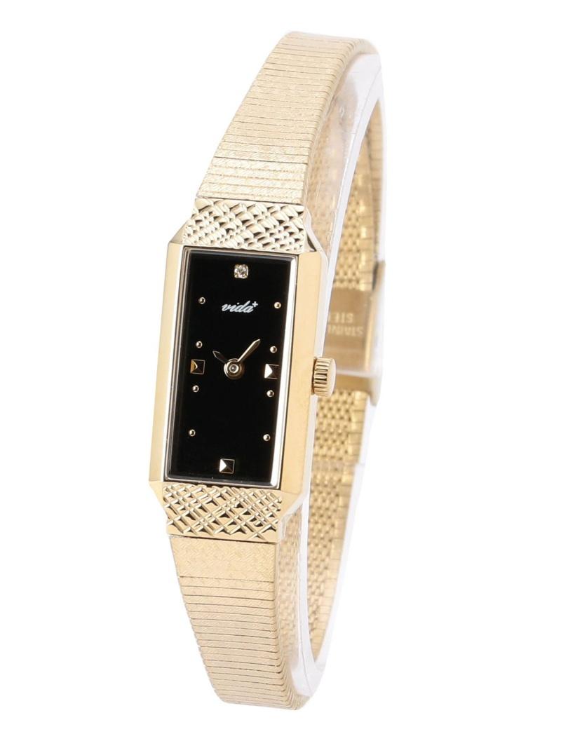 [ Fashion]【SALE/30%OFF】VIDA+:ウォッチ Khaju シップス ファッショングッズ 腕時計 ブラック ゴールド【RBA_E】【送料無料】