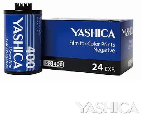 YASHICA カラーフィルム400-135-24枚撮り 1本 交換無料 返品交換不可