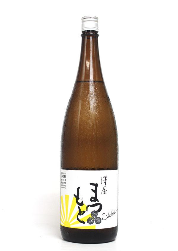 澤屋まつもと 守破離 しゅはり 授与 純米規格 朝日 驚きの値段 1800ml - 松本酒造 2018