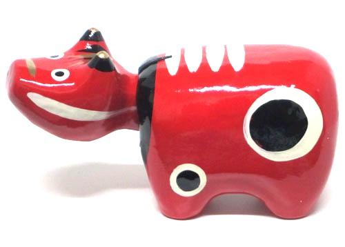 赤ベコは縁起の良い赤色 福島県伝統工芸品福べこ 至上 新作入荷!! 会津の郷土玩具牛 福ベコ 小 赤べこ