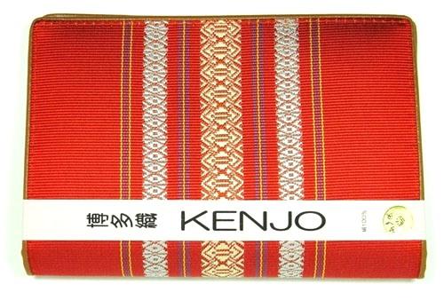 博多織 献上柄 博多織り 上質な贈り物 カード入れ通帳入れ 特売 毎日激安特売で 営業中です 福岡県伝統工芸品 赤色 献上柄健康保険書証