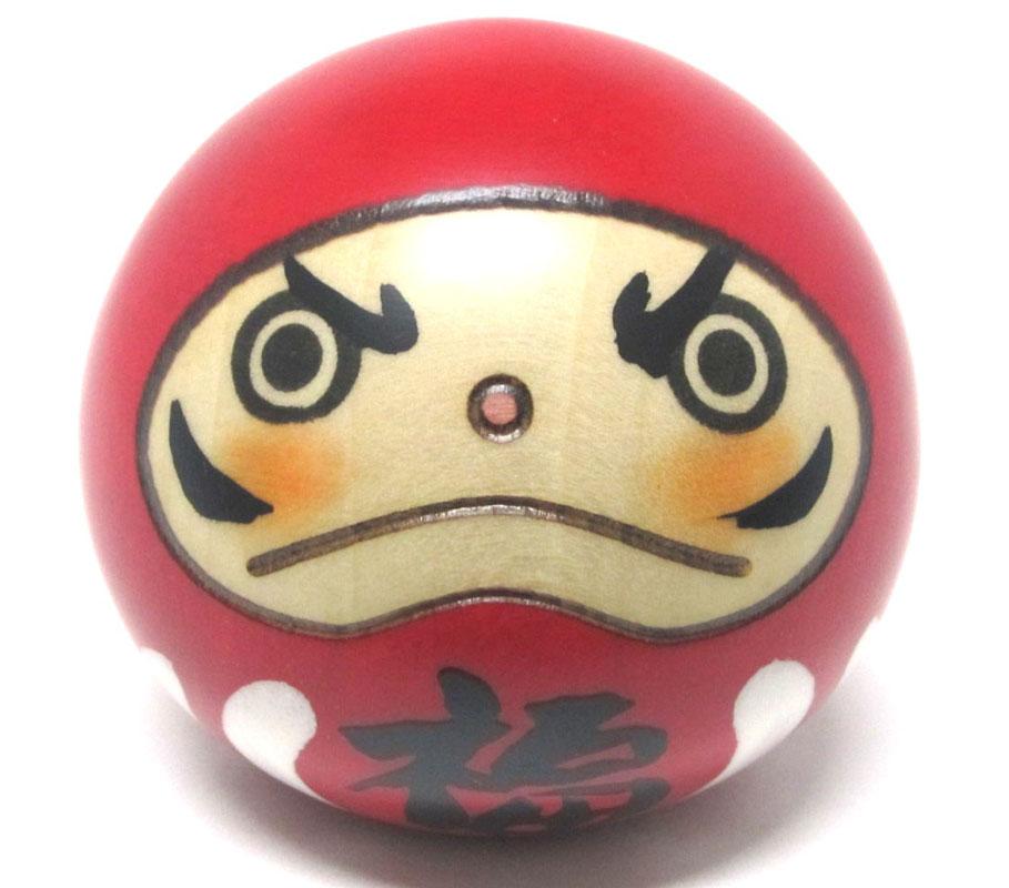 やすらぎの木の温もり 海外向けお土産 日本こけし人形 本物 日本のお土産にも人気日本製 民芸品 達磨卯三郎作 だるま こけし 工芸品 メイルオーダー