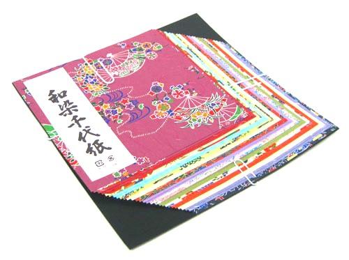[並行輸入品] 皆で遊ぼう 伝統千代紙 ちよがみ 折り紙 おりがみ 郷土玩具日本伝統 おもちゃ 和染千代紙 日本製 大 再再販