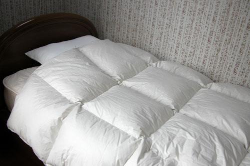 ≪ホテル仕様≫イージー羽毛布団 【送料無料】