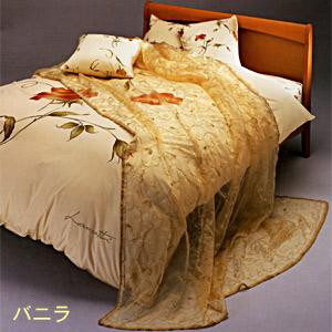 【LANCETTI】Fiorenteフィオレント掛カバー:クイーンサイズ