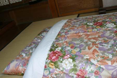 【送料無料】手作りの心地よさ和式純綿敷布団 ダブル