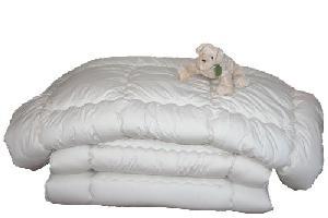【送料無料】【寝具セット】 就進学に羊毛混掛三層敷ふとん2点セット(シングル)