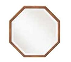 【送料無料】【即納可!!】三越伊勢丹プロパティデザイン Country House英国風 カントリー 八角ミラーミラー 鏡 壁かけ アンティーク風 イギリス風