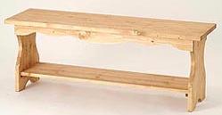 装済・組み立てキット パイン材 カントリーベンチ