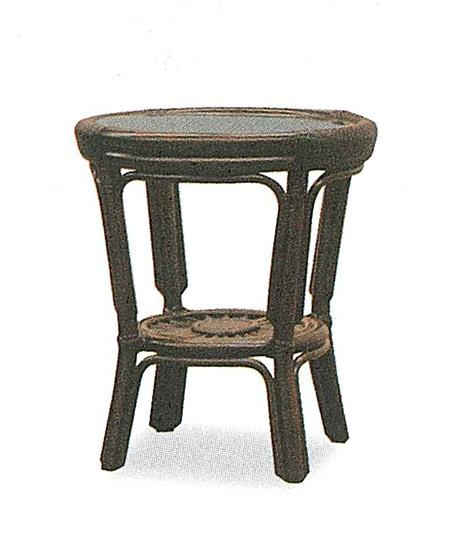 【開梱設置・送料無料】アジロ ラタン コーヒーテーブルサイズ:幅45×奥行45×高さ50cm