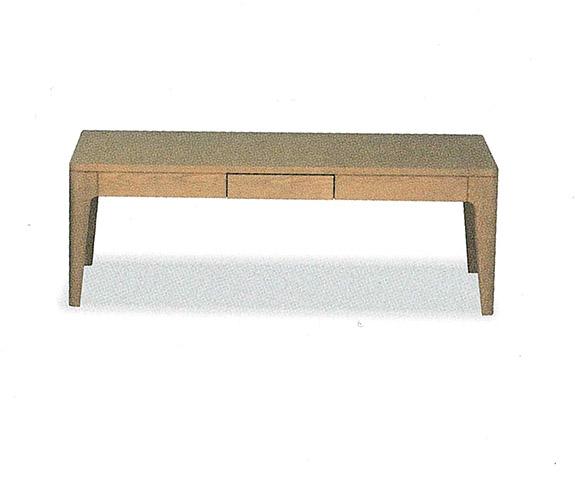 【開梱設置・送料無料】レディ リビングテーブル(引出し付き) NA ナチュラルサイズ:幅110×奥行56×高さ38cm