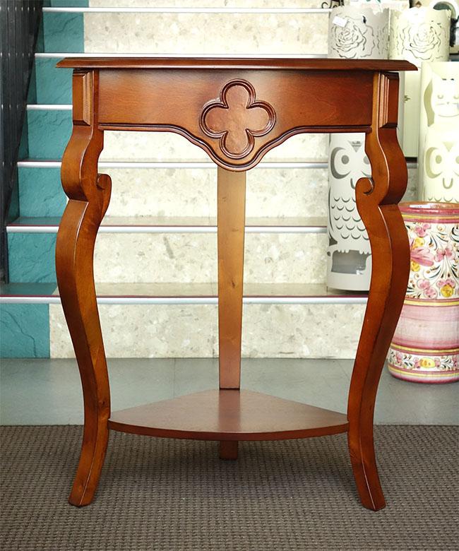 【送料無料】 【即納可】新入荷しました♪木製 サイドテーブル カバ材 ※組立式