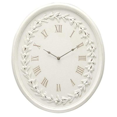 【即納可!!】再入荷しました♪時計(楕円) ROMANCE  壁掛け ウォールクロック インテリア 雑貨