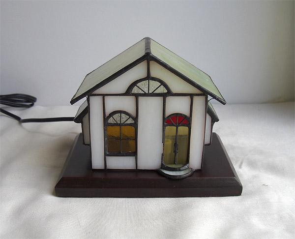 ステンドグラスランプ ハウスランプ