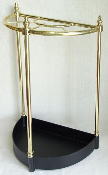 【送料無料!!】【即納可!!】新入荷しました♪イタリア製 真鍮 傘立て 半円型 おしゃれ オシャレ スリム