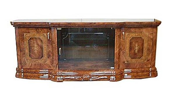 イタリア製 テレビボード ブラウン ヨーロピアン