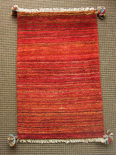 【即納可!!】【送料無料!!】新入荷しました♪ウール 手織り ギャッベ玄関マットサイズ:86X56cm