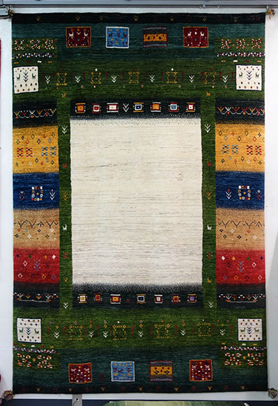 【即納可!!】【送料無料!!】新入荷しました♪最高級 カシュクリ シラーズ産 ギャッベペルシャ絨毯 ウール 手織り ギャベ イランサイズ:275X180cm
