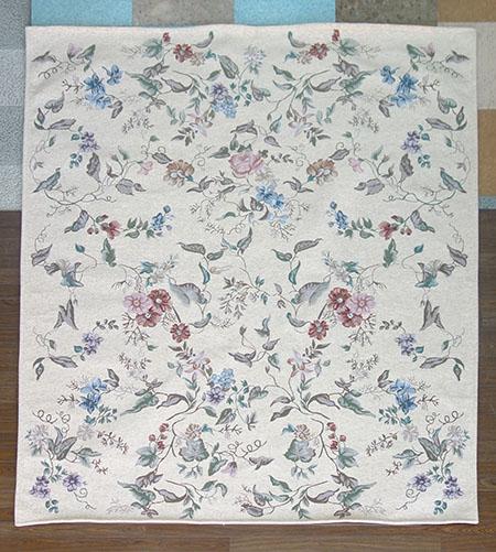 【送料無料!!】【即納可!!】新入荷しました♪ゴブラン シェニール織り カーペット 絨毯 エモリーゼ ベージュ約200x250cm ホットカーペットカバー
