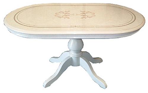【開梱設置・送料無料】イタリア製  クラシック ダイニングテーブル ヨーロピアン
