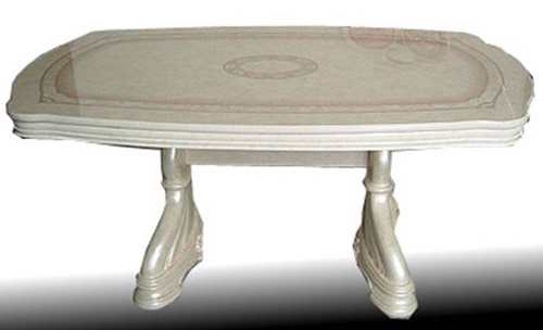 【開梱設置・送料無料】イタリア製  クラシック ダイニングテーブル165 ヨーロピアン
