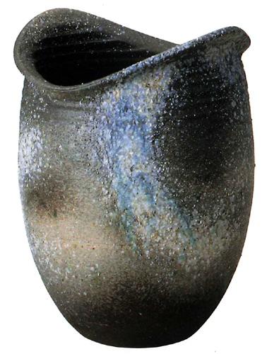 【送料無料】信楽焼 傘立て サイズ:W37×D33×H49(cm) 【北海道・沖縄・離島の送料は別途見積り】※手作り品のため、色・形・大きさ等が少々変わってしまう場合があります。シンプルモダン 和風 アジアンテイスト 伝統 工芸品 焼き物【smtb-MS】